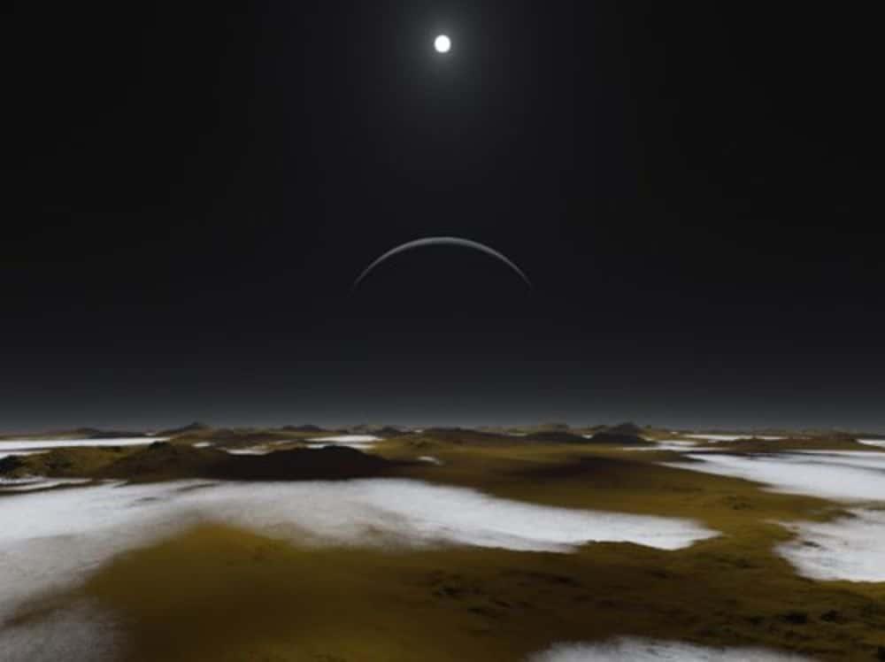 هكذا سيبدو الهبوط على سطح بلوتو