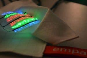 حساسات لقياس ضربات القلب مصنوعة من قماش مطرز قابل للغسل