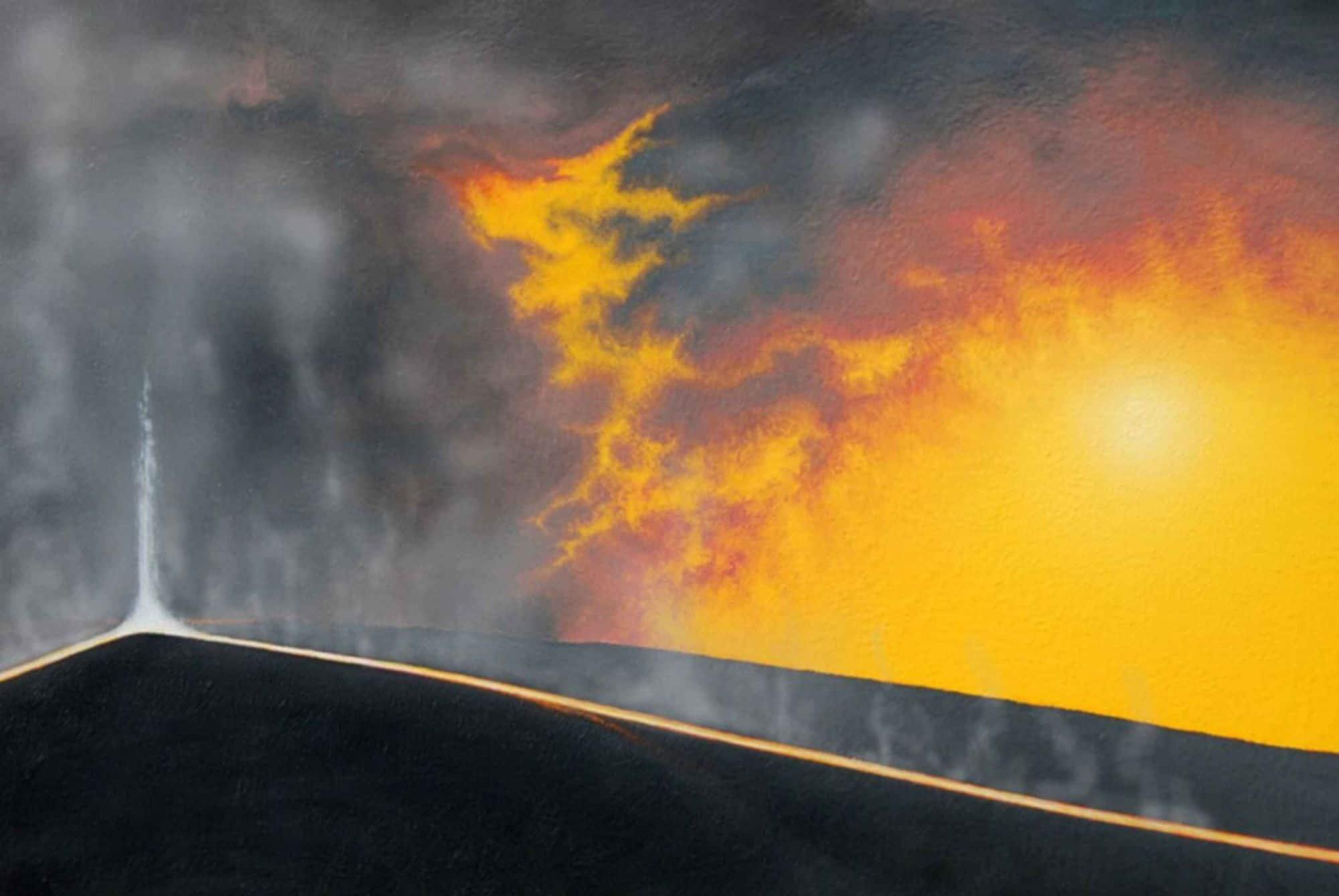 التدفقات الأخيرة من الحمم البركانية شديدة السخونة تظهر لنا مدى ديناميكية الأرض