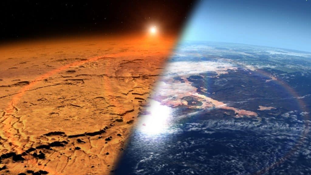 كم الساعة الآن على كوكب المريخ؟