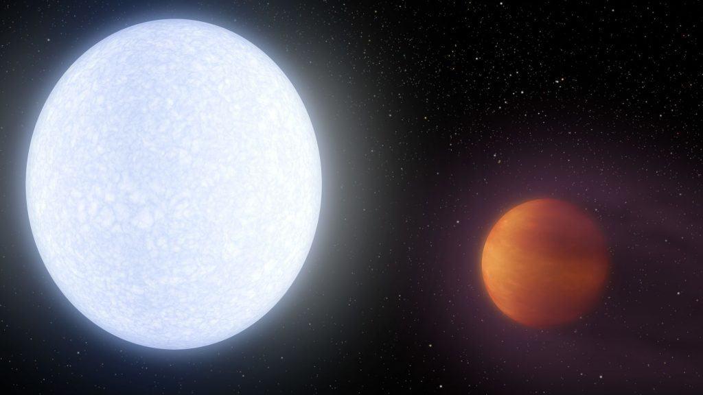 هذا الكوكب البعيد أحرّ من العديد من النجوم
