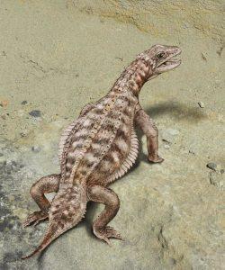 علماء الحفريات يتعرفون أخيراً على شكل هذه الحيوان الزاحف المدرّع
