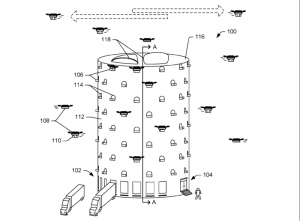 براءة اختراع أمازون لقفير الطائرات بدون طيار هي كابوسٌ لمخطّطي المدن