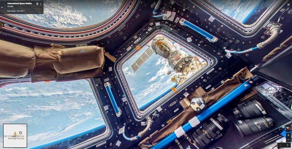 يمكنك الآن أن تقوم بجولة افتراضية في المحطة الفضائية الدولية