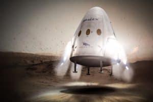 سبيس إكس تغير خططها لإنزال مركبة فضائية على المريخ