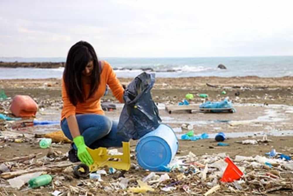 كم دوامة نفايات عملاقة يوجد في المحيط اليوم؟