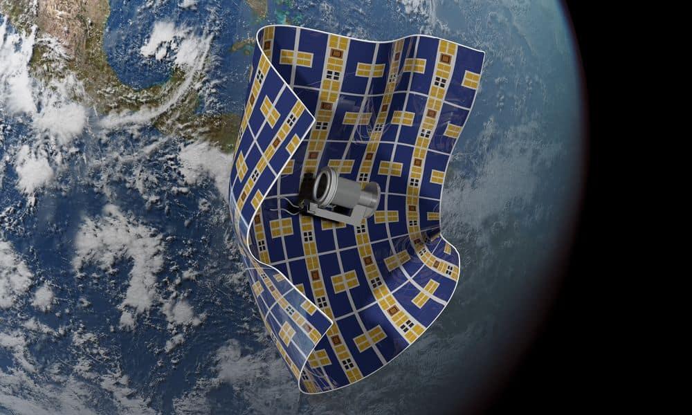 مركبة فضائية أقل ثخانة من الشعرة لالتقاط الحطام الفضائي