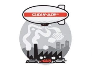 تصميم منطاد لتنقية الهواء
