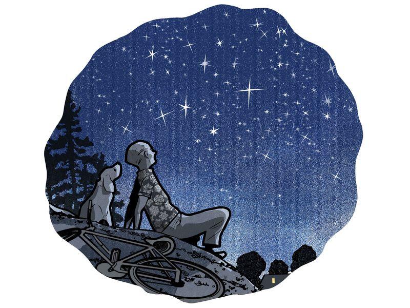لماذا تومض النجوم في السماء؟