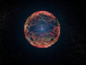 نجم لا يتوقف عن الانفجار والتوهج