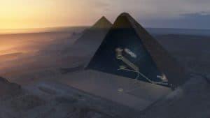 اكتشاف فراغ ضخم داخل الهرم الأكبر باستخدام فيزياء الجسيمات والأشعة الكونية