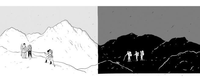 هكذا تجنبنا السقوط في أحد الصدوع الجبلية