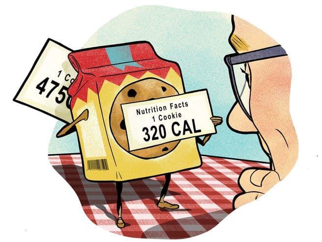 ما مدى دقة السعرات الحرارية المذكورة على ملصقات علب الطعام؟