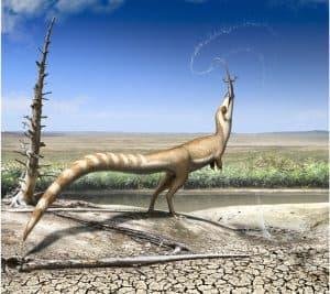 الكشف عن ألوان جسد هذا الديناصور قد يشير إلى موطنه