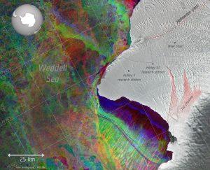 صدوع جليدية عملاقة تعيق إجراء البحوث للشتاء الثاني على التوالي