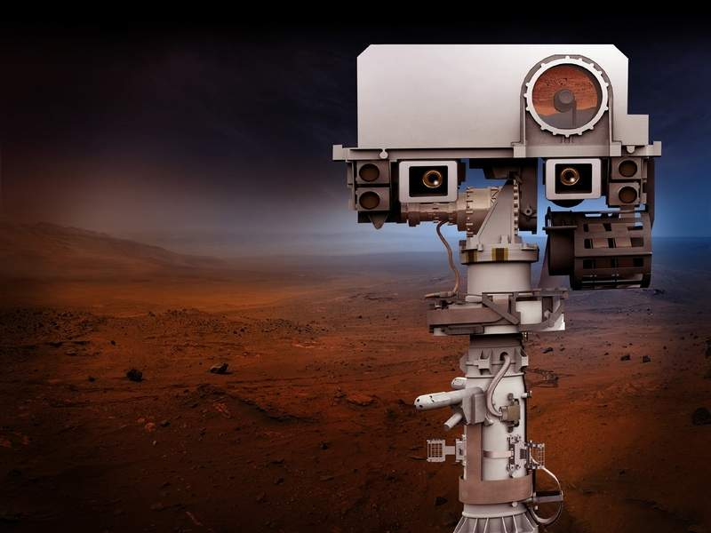 روبوت جديد لوكالة ناسا يلتقط أسرع الصور للمريخ