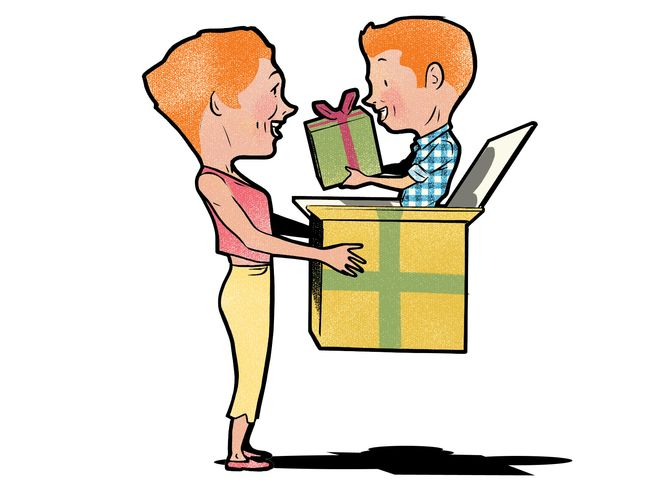 من هو الأسعد: من يقدم الهدية أم من يتلقاها؟