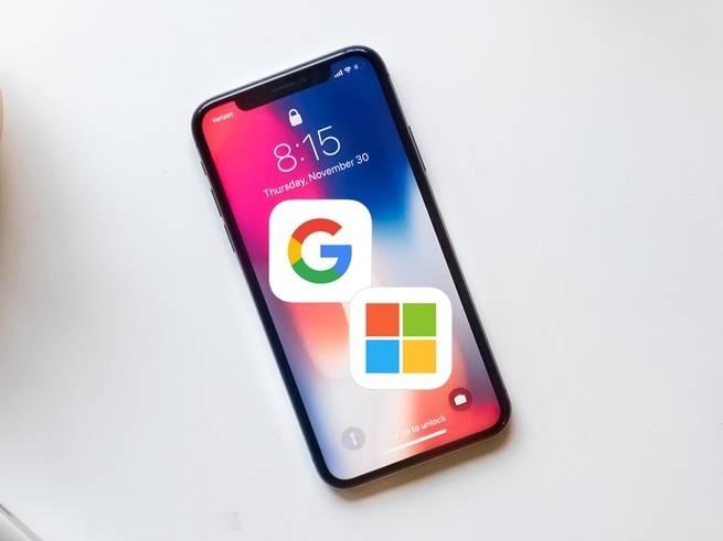 كيف تحتفظ بجهازك الآيفون مع التحول إلى تطبيقات جوجل أو مايكروسوفت