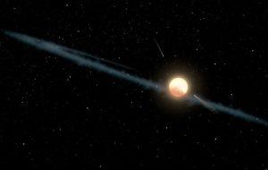 هل ما رأيناه على ذلك النجم من صنع مخلوقات فضائية أم مجرّد غبار؟