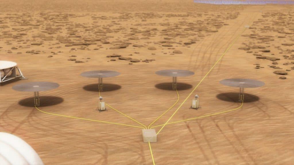 مفاعلات نووية بحجم سلة المهملات لتأمين الطاقة للمستوطنات المريخية