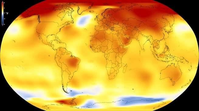 العام 2017 يخالف كل التوقعات ويحتل المرتبة الثانية من حيث درجات الحرارة