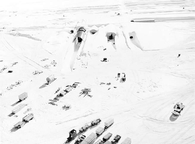 تسبب التغير المناخي بكشف الستار عن أحد الأسرار العسكرية للولايات المتحدة