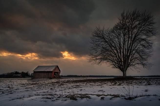 الرعد الثلجي: لقاء البرق مع العاصفة الثلجية