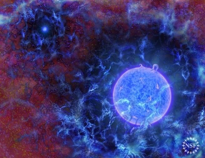 تصورات محتملة لما كانت تبدو عليه بعض أقدم النجوم في كوننا