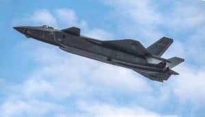 طائرات الشبح الصينية الجديدة مزودة بمواد ذات تركيب هندسي لا وجود له في الطبيعة