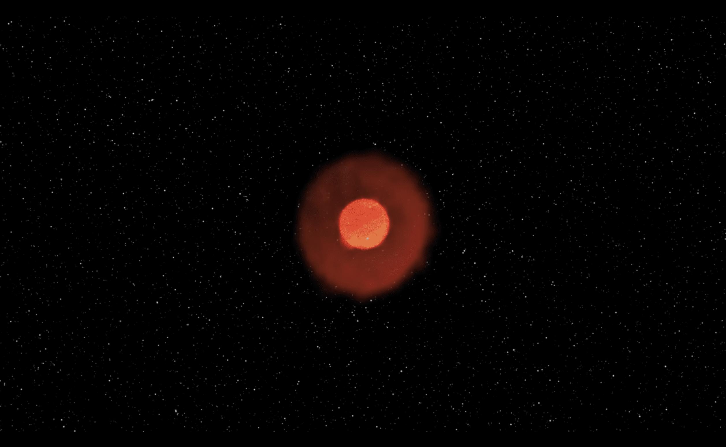 فلكيون يعتقدون أنهم رأوا نجماً ينفجر من فقاعة عملاقة