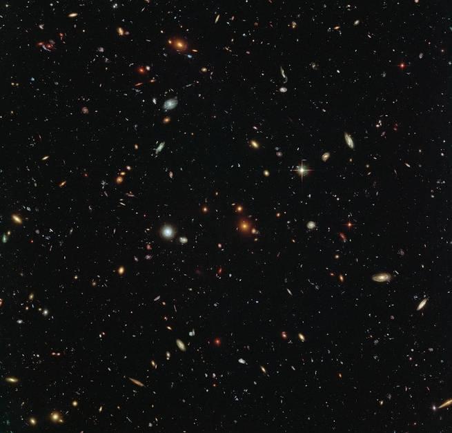 كلما تقدمت المجرة في العمر ازدادت استدارة