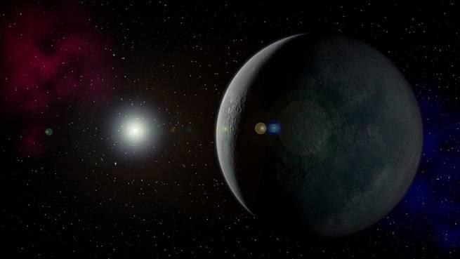 قد يكون الكوكب التاسع الغامض سبب غرابة مدار هذا الكويكب