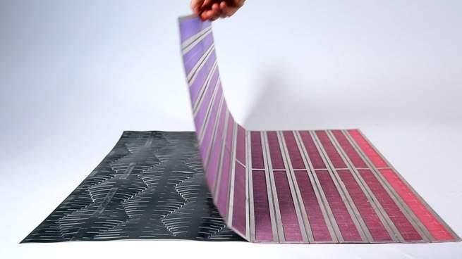 نسيج بأطراف متحركة يبشر بمستقبل من المواد القابلة للبرمجة