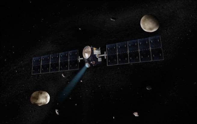 بدأ وقود مركبة ناسا الفضائية المتنقلة بين الكويكبات ينفد بعد 11 سنة من العمل