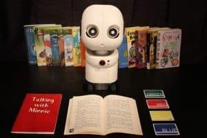 الروبوتات تمثل حلاً مقترحاً لدفع أطفالنا إلى القراءة