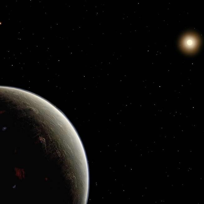اكتشاف كوكب حقيقي في نفس موضع كوكب خيالي في أحد المسلسلات