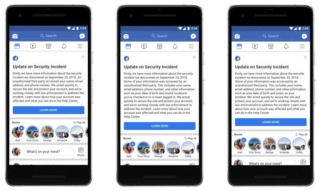 هل أثرت آخر عملية اختراق تعر ض لها فيسبوك على حسابك تعرف على الجواب
