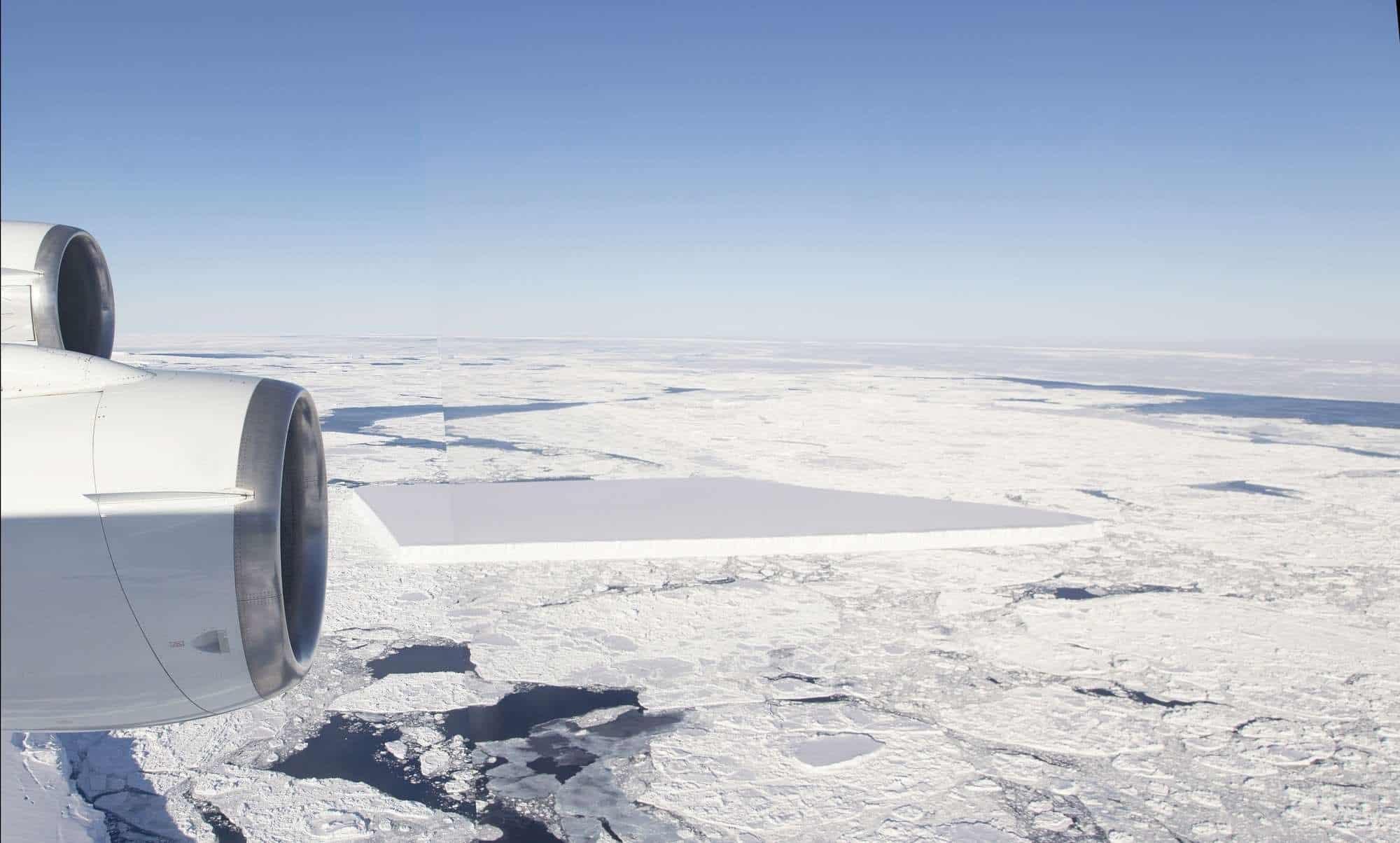 ميجابيكسلز: انظر إلى الشكل الهندسي المنتظم لهذا الجبل الجليدي واشعر بهدوء روحي فريد!