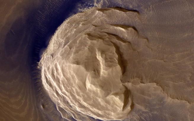 بحث جديد عن براكين المريخ يقول إن منها ما يشبه براكين الأرض