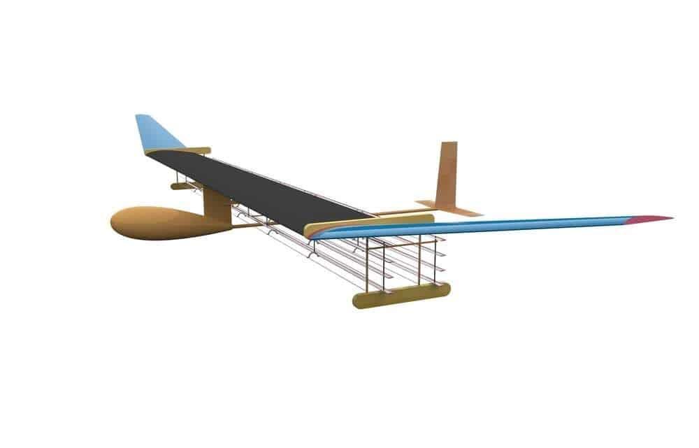 طائرة جديدة تعتمد على