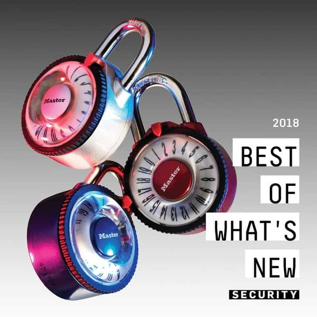 أفضل الاختراعات في مجال الأمن والحماية في 2018