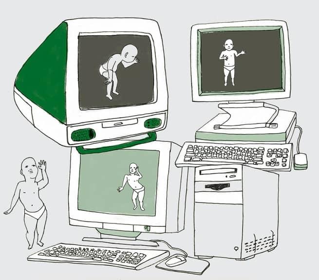 أول من صمم ميم رقمي على الإنترنت