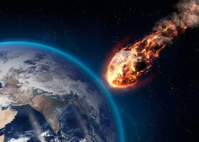 انفجار نيزك قوته 10 أضعاف قنبلة هيروشيما فوق بحر بيرنغ