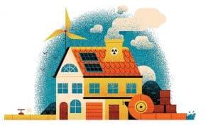 كم يتطلب تشغيل منزلك من مصادر الطاقة؟