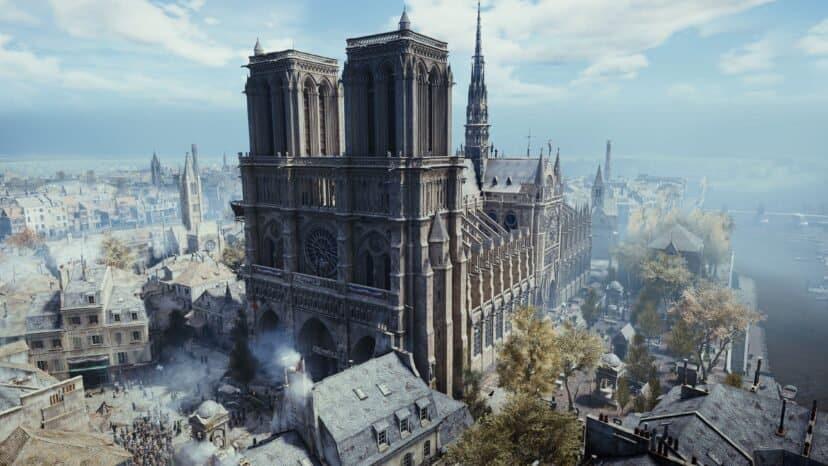 لعبة فيديو قد تساهم في مهمة إعادة ترميم كاتدرائية نوتردام