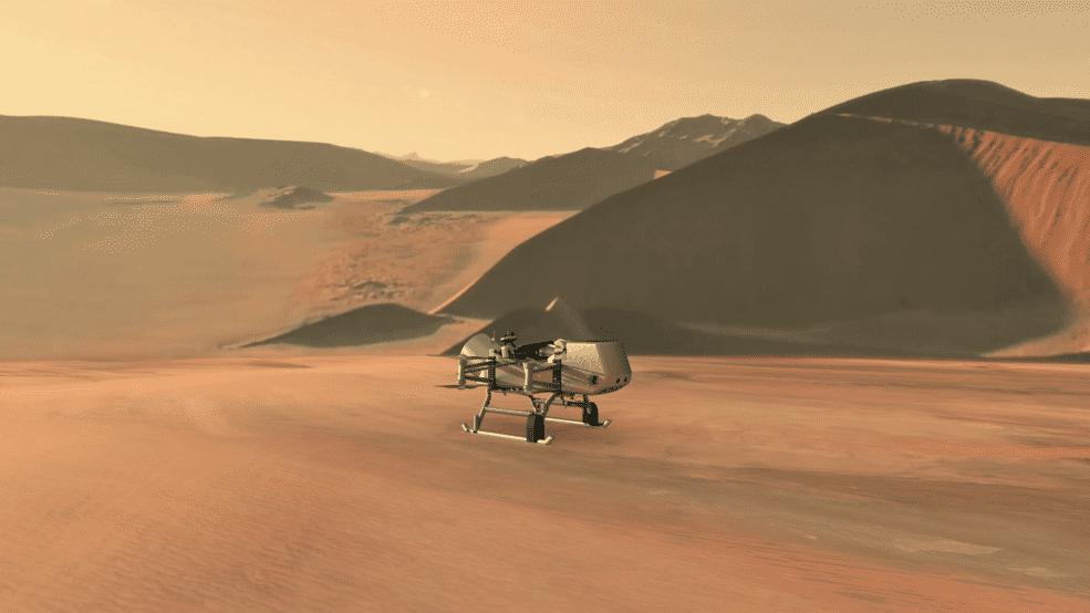 دراجون فلاي: ناسا تبحث عن الحياة على قمر تيتان