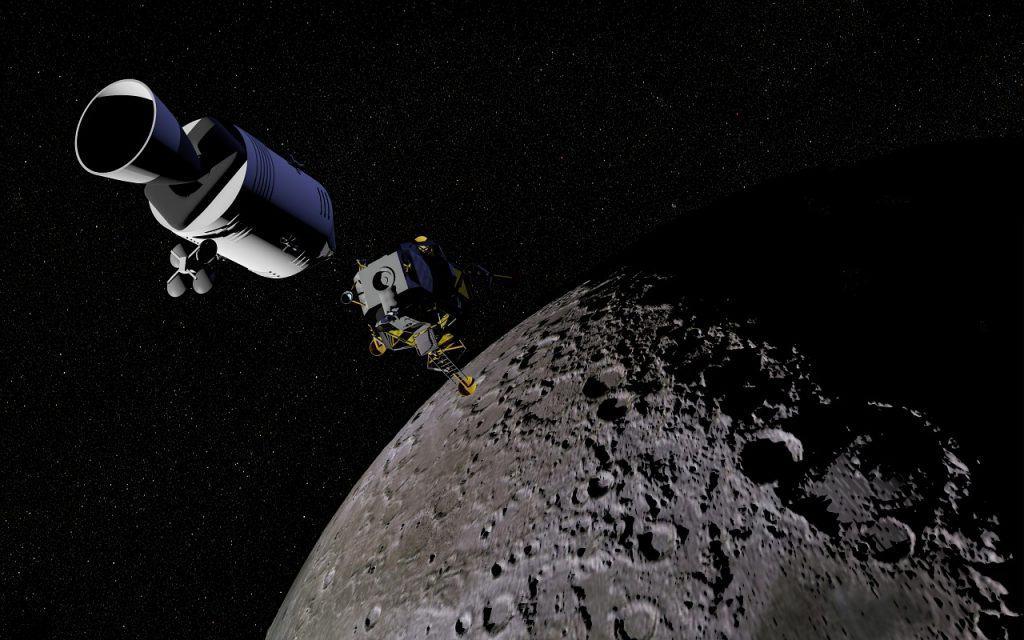 محمد بن راشد يطلق أول مهمة عربية لاستكشاف القمر