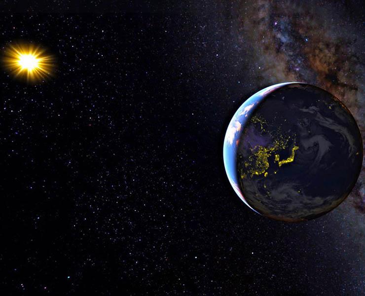 هل يمكن نقل الأرض إلى مدار آخر؟