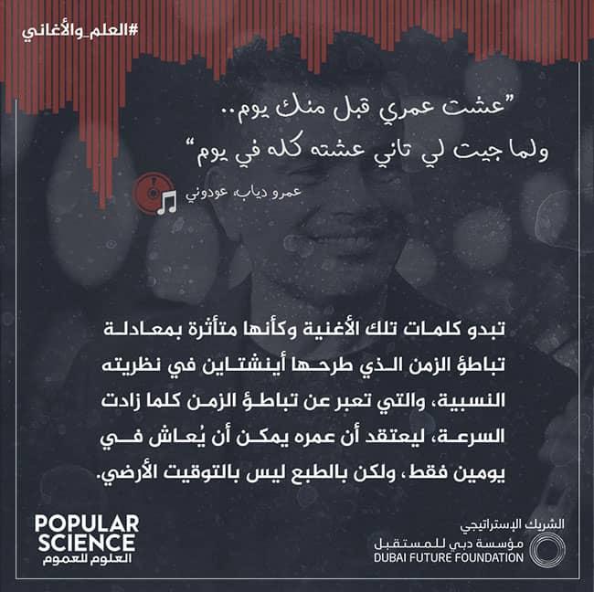 العلم, الأغاني, عمرو دياب, عودوني