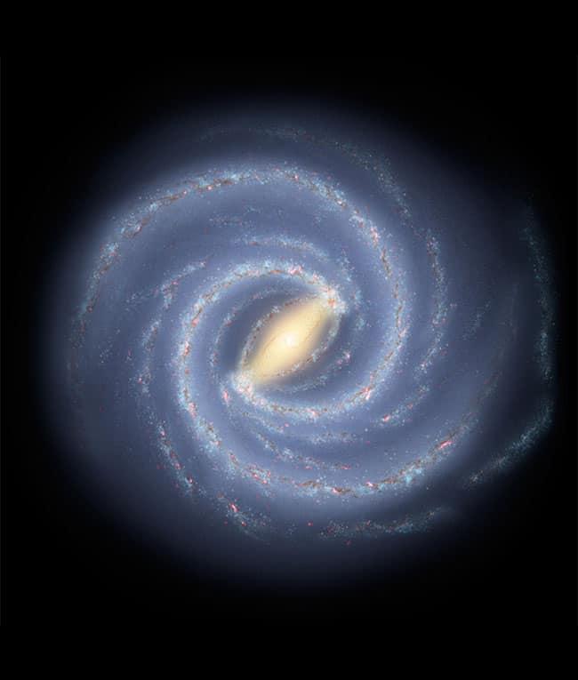 مجرة درب التبانة: تاريخ طويل من ابتلاع النجوم